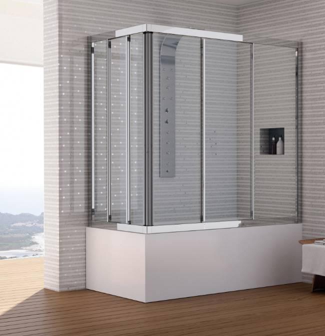 ELISA Box per vasca da bagno. Altezza 140